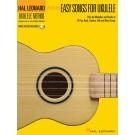 More Easy Songs for Ukulele -  Various   (Ukulele)  - Hal Leonard. Sftcvr/Online Audio Book