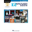 12 Smash Hits -  Various   (Clarinet)  - Hal Leonard. Softcover/CD Book