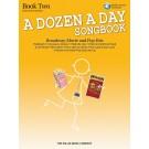 A Dozen A Day Songbook - Book 2 - Book/CD Pack - Carolyn Miller   Various (Piano) A Dozen a Day - Willis Music. Softcover/CD Book