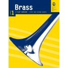 Brass Series 1 - E Flat Version First and Second Grades -     (Eb Instrument) AMEB Brass - AMEB. Softcover Book