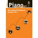 Piano For Leisure Grade 3 & 4 Series 2 CD Recording Handbook -     (Piano) AMEB Piano for Leisure - AMEB. Softcover/CD Book