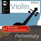 Violin Series 9 Preliminary - Recorded Accompaniments -     (Violin) AMEB Violin - AMEB. CD Book