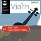 Violin Series 9 First Grade - Recorded Accompaniments -     (Violin) AMEB Violin - AMEB. CD Book