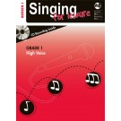Singing For Leisure Series 1 - Grade 1 High Voice -     (Classical Vocal|Vocal) AMEB Singing For Leisure - AMEB. Softcover/CD Book