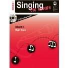 Singing For Leisure Series 1 - Grade 3 High Voice -     (Classical Vocal|Vocal) AMEB Singing For Leisure - AMEB. Softcover/CD Book