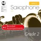 Alto Sax Series 2 Grade 2 Recorded Accompaniments -    Various (Alto Saxophone) AMEB Saxophone - AMEB. CD Book