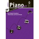 Piano For Leisure Grade 3 & 4 Series 3 CD Recording Handbook -     (Piano) AMEB Piano for Leisure - AMEB. Softcover/CD Book