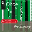 Oboe Series 1 Preliminary Recorded Accompaniments -    Various (Oboe) AMEB Oboe - AMEB. CD Book