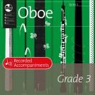 Oboe Series 1 Grade 3 Recorded Accompaniments -    Various (Oboe) AMEB Oboe - AMEB. CD Book