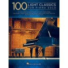 100 Light Classics for Piano Solo -    Various ()  - Hal Leonard. Softcover Book