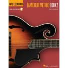 Hal Leonard Mandolin Method - Book 2 -  Rich DelGrosso   (Mandolin)  - Hal Leonard. Sftcvr/Online Audio Book