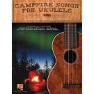 Campfire Songs for Ukulele -  Various   (Ukulele)  - Hal Leonard. Softcover Book