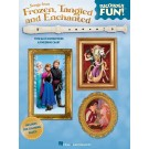 Songs from Frozen, Tangled and Enchanted - Recorder Fun! -  Various   (Recorder)  - Hal Leonard.  Book