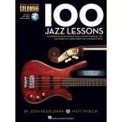 100 Jazz Lessons -  Various   (Bass Guitar) Bass Lesson Goldmine Series - Hal Leonard. Sftcvr/Online Audio Book