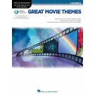 Great Movie Themes for Horn -    Various (French Horn) Instrumental Play-Along - Hal Leonard.  Book