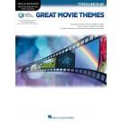 Great Movie Themes for Trombone -    Various (Trombone) Instrumental Play-Along - Hal Leonard.  Book