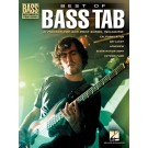 Best of Bass TAB -  Various   (Bass Guitar) Bass Recorded Versions - Hal Leonard. Softcover Book