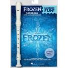 Frozen - Recorder Fun! -    Kristen Anderson-Lopez|Robert Lopez (Recorder)  - Hal Leonard. Package Book