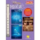 Disney Magic - Learn & Play Recorder Pack -  Various   (Recorder)  - Hal Leonard.  Book
