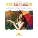 100 Most Delightful Songs Ever -    Various (Guitar|Piano|Vocal)  - Hal Leonard. Softcover Book