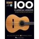 100 Classical Lessons -  Burgess Speed   (Classical Guitar) Guitar Lesson Goldmine Series - Hal Leonard. Sftcvr/Online Audio Book