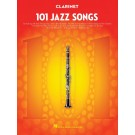 101 Jazz Songs for Clarinet -    Various (Clarinet) 101 Instrumental Folios - Hal Leonard. Softcover Book