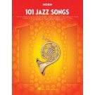 101 Jazz Songs for Horn -    Various (French Horn) 101 Instrumental Folios - Hal Leonard. Softcover Book
