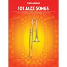 101 Jazz Songs for Trombone -    Various (Trombone) 101 Instrumental Folios - Hal Leonard. Softcover Book
