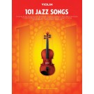101 Jazz Songs for Violin -    Various (Violin) 101 Instrumental Folios - Hal Leonard. Softcover Book