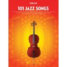 101 Jazz Songs for Cello -    Various (Cello) 101 Instrumental Folios - Hal Leonard. Softcover Book