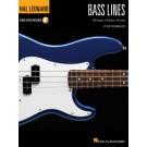 Bass Lines -     (Bass Guitar) Hal Leonard Bass Method - Hal Leonard. Sftcvr/Online Audio Book