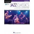 Jazz Classics for Horn -     (French Horn) Instrumental Play-Along - Hal Leonard. Sftcvr/Online Audio Book