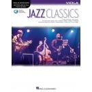 Jazz Classics for Viola -     (Viola) Instrumental Play-Along - Hal Leonard. Sftcvr/Online Audio Book