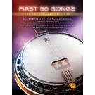 First 50 Songs You Should Play on Banjo - Greg Cahill|Michael J. Miles    (Banjo) First 50 - Hal Leonard. Softcover Book