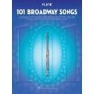 101 Broadway Songs for Flute -    Various (Flute) 101 Instrumental Folios - Hal Leonard.  Book