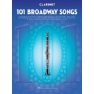 101 Broadway Songs for Clarinet -    Various (Clarinet) 101 Instrumental Folios - Hal Leonard.  Book