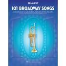 101 Broadway Songs for Trumpet -    Various (Trumpet) 101 Instrumental Folios - Hal Leonard.  Book
