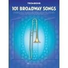 101 Broadway Songs for Trombone -    Various (Trombone) 101 Instrumental Folios - Hal Leonard.  Book