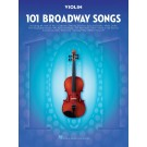 101 Broadway Songs for Violin -    Various (Violin) 101 Instrumental Folios - Hal Leonard.  Book