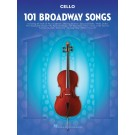 101 Broadway Songs for Cello -    Various (Cello) 101 Instrumental Folios - Hal Leonard.  Book