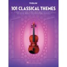 101 Classical Themes for Violin -    Various (Violin) 101 Instrumental Folios - Hal Leonard. Softcover Book