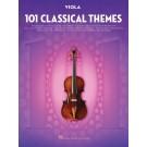 101 Classical Themes for Viola -    Various (Viola) 101 Instrumental Folios - Hal Leonard. Softcover Book
