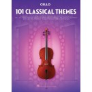 101 Classical Themes for Cello -    Various (Cello) 101 Instrumental Folios - Hal Leonard. Softcover Book
