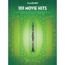 101 Movie Hits for Clarinet -    Various (Clarinet) 101 Instrumental Folios - Hal Leonard.  Book