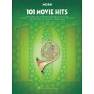 101 Movie Hits for Horn -    Various (French Horn) 101 Instrumental Folios - Hal Leonard.  Book