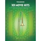 101 Movie Hits for Trombone -    Various (Trombone) 101 Instrumental Folios - Hal Leonard.  Book