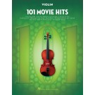 101 Movie Hits for Violin -    Various (Violin) 101 Instrumental Folios - Hal Leonard.  Book