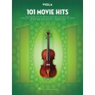 101 Movie Hits for Viola -    Various (Viola) 101 Instrumental Folios - Hal Leonard.  Book
