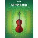 101 Movie Hits for Cello -    Various (Cello) 101 Instrumental Folios - Hal Leonard.  Book