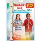 Recorder Fun! Beginner's Pack -    Various (Recorder) Recorder Fun! - Hal Leonard. Sftcvr/Online Audio Book